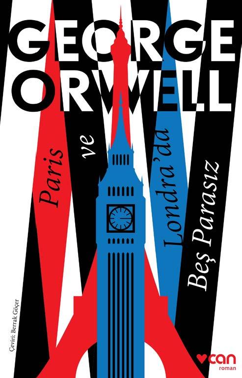 George Orwell Paris ve Londra'da Beş Parasız e-kitap