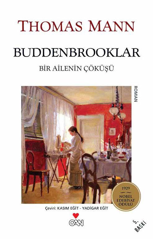 Thomas Mann Buddenbrooklar – Bir Ailenin Çöküşü e-kitap